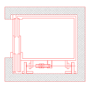 Cad Block of Elevator in dwg
