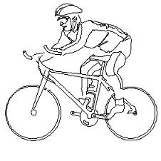 Cad Block of Biker in dwg