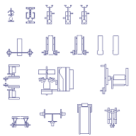 Cad Block of Gym equipment in dwg