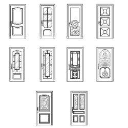 sc 1 st  max-cad.com & Doors elevation dwg block | max-cad.com